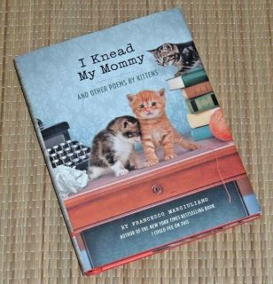 I Knead My Mommy & Other Poems by Kittens Hard Cover Book Dust Jacket Cat Lovers