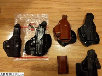For Sale: HK USP Compact Holsters & Mag Pouch