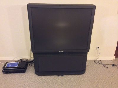 48 inch Sony Color Rear Projector TV