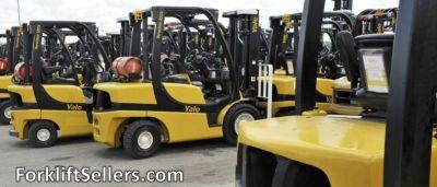 Used Forklift For Sale- Sit Down Rider- Rough Terrain- Telehandler