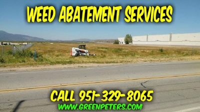 Mike's Weed Abatement Services / Call Us 951-329-8065 - Low Rates