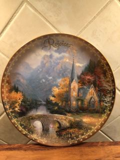 Thomas Kinkade Set of 3 Collectibles