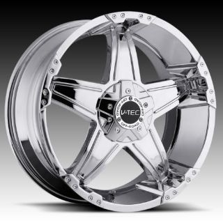 """Purchase 18"""" V-TEC 395 Chrome Wheels Rims Nissan Titan Armada motorcycle in Victorville, California, US, for US $739.00"""