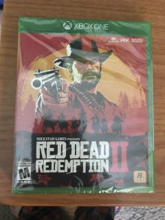 Red Dead Redemption 2 Xbox One (brand new)