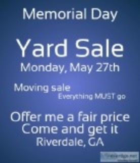 Moving Sale---Everything MUST go