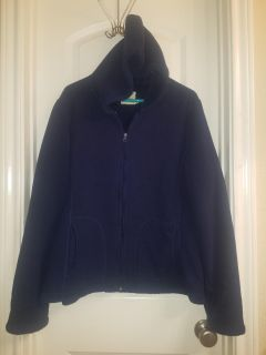 Womans Cozy Hooded Sweater Sz 16-18