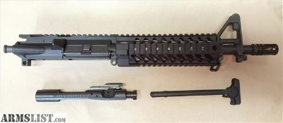For Sale: AR-15 MK-18 10.5 pistol upper 1/7 CL YHM SLR Quad AR-15 AR15 M4 M-4 MK18 MK-18 Commando .223 223