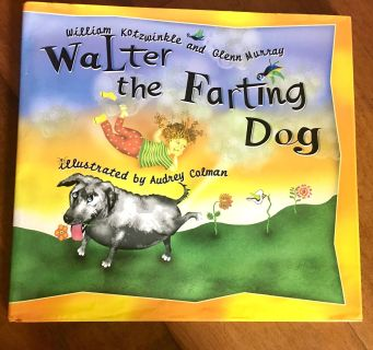 Walter the Farting Dog Hardcover! Great Condition!