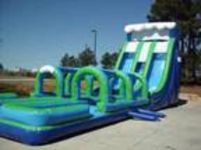 Atlanta 24' High Ocean Wave with Dual Slip and Slides For Rent for Rent
