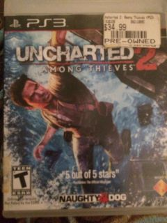 PS3- Uncharted 2 $8