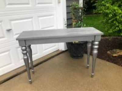 Silver Sofa Table