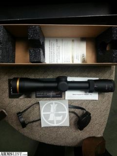 For Sale: Leupold VX-5HD 2-10x42
