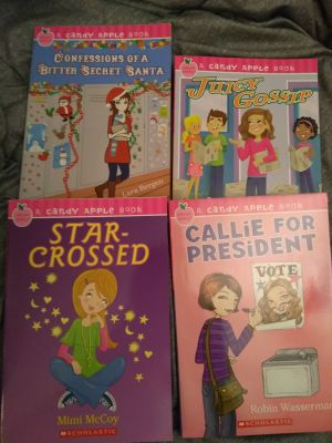 Candy apple book chapter books
