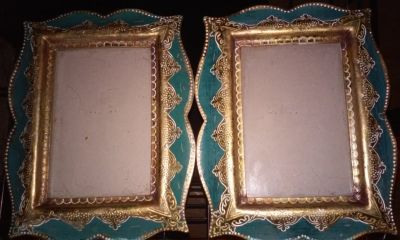 2 4x6 Ornate Picture Frames