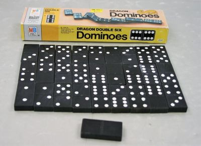 Dragon Double Six Dominoes