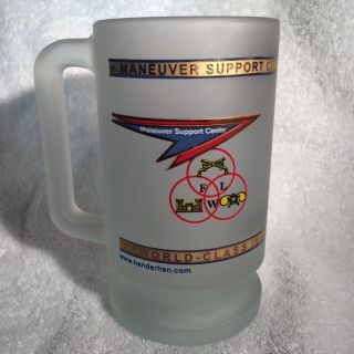 FLW FROSTED COLLECTABLE MUG
