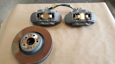 Buy 2015 2016 Mustang 5.0 Coyote Front Brakes Calipers Kit Rotors 175 miles motorcycle in Davenport, Iowa, United States, for US $389.99