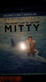 Secret Life of Walter Mitty Bluray/DVD Combo