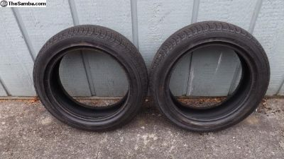 Continental 145/65R15 Tires (2)