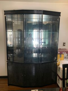 China Cabinet W/ Three Door Cabinets