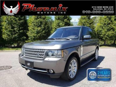 2010 Land Rover Range Rover Supercharged (Gray)