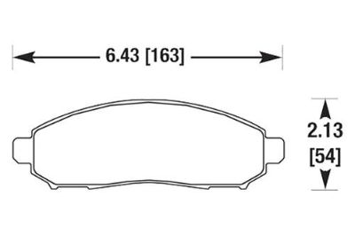 Sell HAWK HB618Y.625 - 05-10 Nissan Frontier Front Brake Pads motorcycle in Chino, California, US, for US $108.68