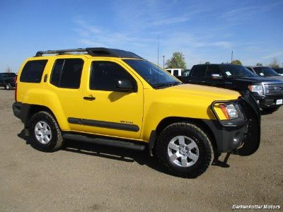 2008 Nissan Xterra Off-Road (Yellow)