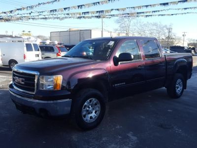 2008 GMC Sierra 1500 Work Truck (Dark Crimson Metallic)