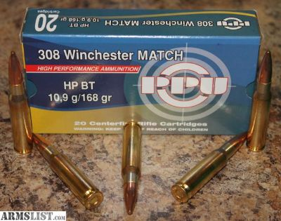 For Sale: $$ - 308 win Match Ammo
