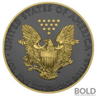 2019 Silver 1 oz American Eagle Golden Ring