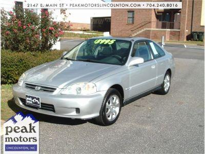 2000 Honda Civic EX (SILVER)
