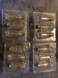 EDISON BULBS 12 PACK
