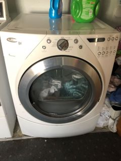 Comercial washer and Duet Dryer for sale