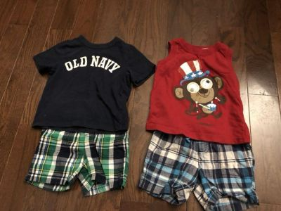 Lot of 5 outfits! See pics. Size 18 months.