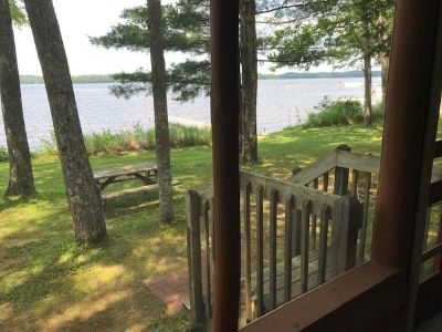Sunset Ridge Resort - Minocqua, WI weekly lakefront cabin rental
