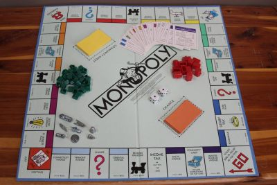 1985 Vintage Parker Brothers 0009 Classic Monopoly Board Game