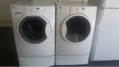 Whirlpool front load washer and dryer electric