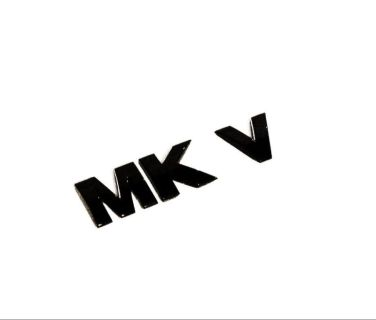 "Find VW Golf Jetta MK5 Rear Trunk Badge emblem "" MKV "" RARE ALL BLACK 2006 - 2010 new motorcycle in Watertown, Massachusetts, US, for US $8.00"
