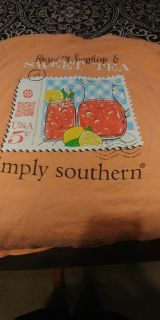 3 Large simply southern shirts