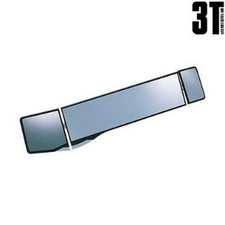 Sell New Carmate PL104 Rear View Wide Convex Mirror 270mm+80mm+50mm 2X Brighter!! motorcycle in Rowland Heights, California, US, for US $31.98