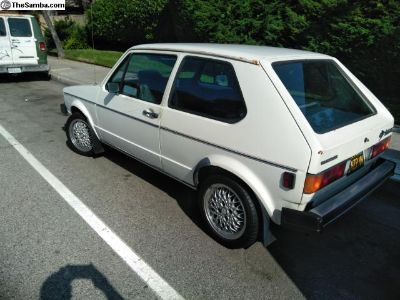 1983 Volkswagen Rabbit Diesel