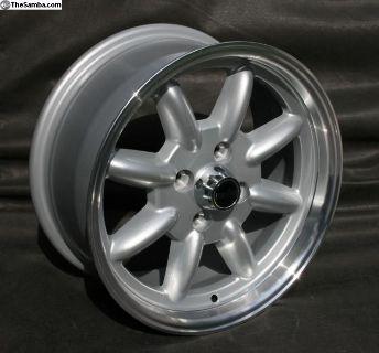 NEW 15x7 Minilite Style Alloy Wheels 4x100
