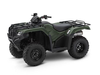 2017 Honda FourTrax Rancher 4x4 DCT EPS Utility ATVs West Bridgewater, MA