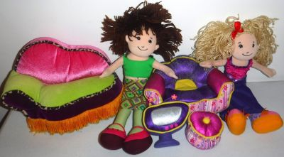 Groovy Girls ~ Furniture + 2 Dolls