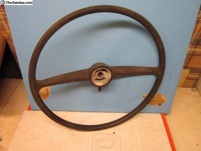 used split window bus steering wheel