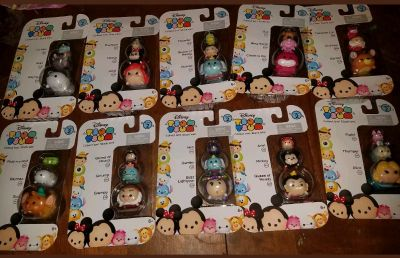 Tsum tsums all different
