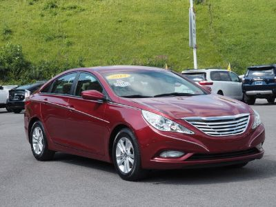 2013 Hyundai Sonata GLS (red)
