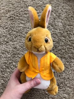 Ty Mopsy cottontail plush bunny
