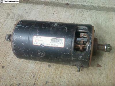 generator rebuilt for bus 68-71