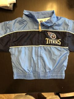 Tennessee Titans NFL TEAM Apparel light weight jacket size 12 months